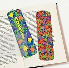 24 Crazy Funky Color Foam Book Marks Multi Color Classroom Pack w/ goodies