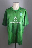 Werder Bremen Trikot Gr. XXL 2011-12 Nike Shirt Targobank grün Home