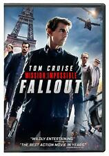 Mission: Impossible - Fallout (DVD, 2018)