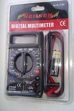 DIGITAL MUTLIMETER Circuit Tester Multi Testing Meter Test Volts Amps Continuity