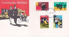 1980 Community Welfare FDC - Cabramatta NSW 2166 PMK