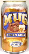 "NEW FULL 12oz 355ml Can of Pepsi's ""Taste of California"" Mug Cream Soda USA 2012"