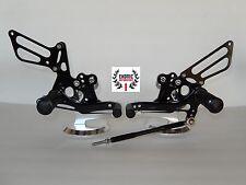 Suzuki GSXR 600 750 2000/05 1000 2001/04 SV 650 S CNC Billet Rearset Foot Pegs