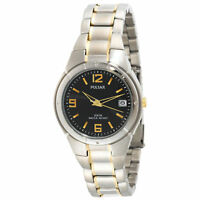 Pulsar PXH172 Day/Date Stainless Steel Two-Tone Mens Watch P36