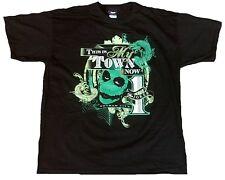 ZAVVI Esclusivo Official BATMAN My Town THE JOKER Dark Knight Rises Maglietta XL