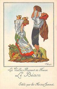 FARINES JAMMET Vieilles Provinces de France LE BéARN Illustration Jean Droit