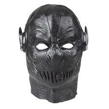 The Flash II Zoom Cowl Cosplay Mask Black Helmet Full head Prop Halloween Mask