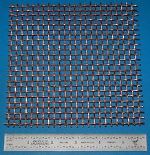"Copper 4-Mesh (4760 micron), .063"" (1.6mm) Wire, .187"" Wd, 6x6"""