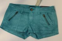 NWT American Eagle Shortie Green Shorts Size 2