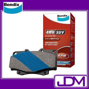 BENDIX 4WD Front Brake Pads NISSAN PATROL GU