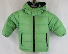 Land's End Youth Kids Boys Navy Blue Green Reversible Winter Jacket Coat 4
