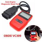 Car Fault Engine Diagnostic Scanner Code Reader Reset Tool Obd2 Can Bus Portable