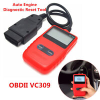 Car Fault Engine Diagnostic Scanner Code Reader Reset Tool OBD2 CAN BUS Portable