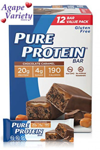 Pure Protein Bars, High Protein, Nutritious Snacks to 1.76 Ounce (Pack of 12)