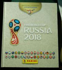 Panini 2018 WC WM FIFA World Cup Russia Empty Sticker Hardcover Album WHITE RARE