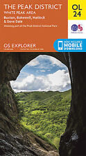 OL24 Peak District Ordnance Survey Explorer Map OL 24