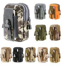 Tactical Molle Pouch Belt Waist Pack Bag Military Waist Pack Phone Pocket
