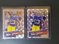 2020 Donruss Cam Akers THE Rookies #TR-CA LOS ANGELES RAMS lot of two 🔥