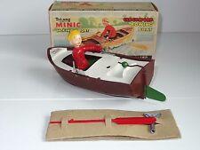 (L) triang minic JACK IN THE BOAT plastic clockwork motor boat