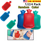 1/2/4 Rubber Heat Water Bag Hot Cold Warmer Relaxing Bottle Therapy Winter Thick