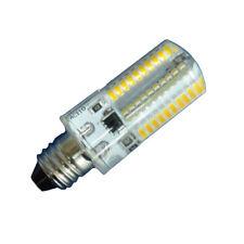 10x E10 White/Warm AC 120V 220V 80-3014 SMD LED Silicone Bulb Chandelier Light