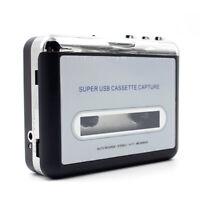 Tape to PC Super USB Cassette to MP3 Converter Capture Audio Music Cassette Play