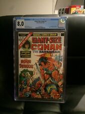 Giant Size Conan #1 CGC 8.5 1974 White Pages