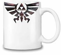 Legend Of Zelda Logo themed 11oz Ceramic coffee Mug Birthday gift.