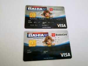 Brazil - Bradesco Bank/Credit Card - Visa - Card and Sample -Expired 2016
