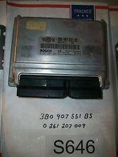 VW Passat Engine Control Computer ECM ECU EBX NC76-5 3B0907551BS TESTED#S646+