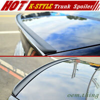 Painted Fit FOR Mercedes Benz W208 Coupe CLK K Type Trunk Lip Spoiler CLK320