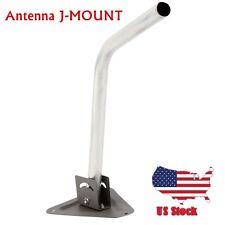 MOUNT MOUNTING POLE MAST FOR TV ANTENNA SATELLITE J-MOUNT DISH OUTDOOR