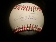Casey Fien Official League Signed baseball Autograph Twins Rawlings leather