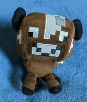 "Minecraft Brown Baby Cow Video Game Plush 6"" Stuffed Toy Animal Kids Boys Girls"