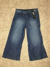 Express Jeans High Rise Culottes Size 6 Inseam 22 Crop Womens NWT