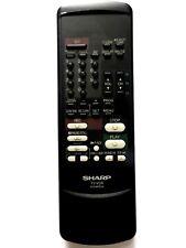 SHARP TV/VCR COMBI REMOTE CONTROL G1038PESA for VT3700H