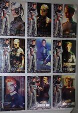 STAR TREK VOYAGER .SKYBOX 1 to 9 Seven of Nine 1995