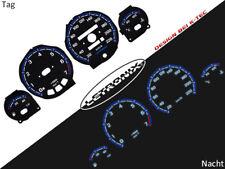 LETRONIX Plasma Tacho Tachoscheiben EL-Dash Opel Corsa B Tigra A 20-220Km/h #