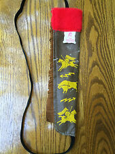 Native American Indian Folk Art -  Hand made youth Cherokee Bow and Arrow holder
