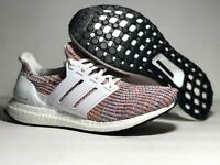 Adidas Ultra Boost 4.0 White/Rainbow Men's Running Shoes  CM8111 ALL Size NWB
