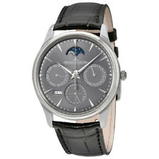 Jaeger LeCoultre Master Ultra Thin Perpetual Silver Dial Automatic Mens Watch