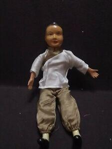 ASIAN Oriental compo paper mache doll