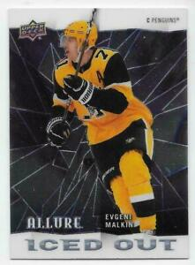 20/21 2020 UPPER RECK UD ALLURE HOCKEY ICED OUT INSERT CARDS IO-XX U-Pick List
