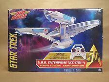 Star Trek U.S.S. Starship Enterprise NCC-1701-A RC Drone • 4 Ch • Air Hogs • NOS