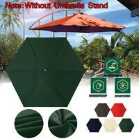 2.1*2.1m Sonnenschirm Bespannung Ersatz Schirm Bezug Sonnenschirmbezug Schirm