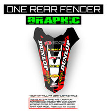 2010 2011 2012 2013 YZF 450 REAR FENDER GRAPHIC MOTOCROSS MX DECAL