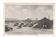 Military Related Postcard: Camp Devens Officers' Mess- WWI era