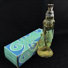 Vintage Avon Mermaid Bath Oil Decanter Full 6 Oz Bottle Sea Maiden Skin So Soft