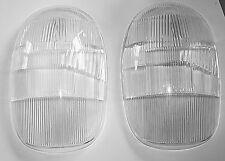 MERCEDES BENZ 300 SL W198 ROADSTER TWO NEW LHD HEADLIGHT LENSES BOSCH 1305630011