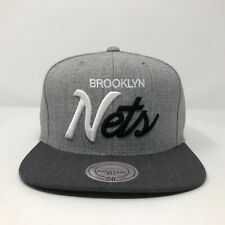 Brooklyn Nets Mitchell And Ness Snapback Hat A6
